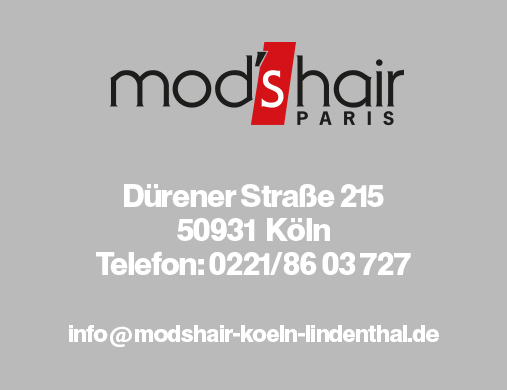 ihr friseur in k ln lindenthal mod 39 s hair haartrends aus paris. Black Bedroom Furniture Sets. Home Design Ideas